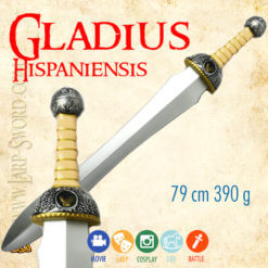 Gladius hispaniensis pro larp a cosplay