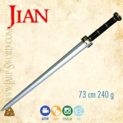 Jian - softened chinese sword for larp