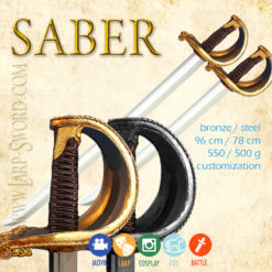 Saber - softened saber for larp and cosplay