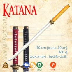 foam katana for larp and cosplay