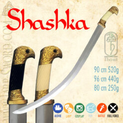 cossack shashka, kozácká šaška, šavle pro larp, cosplay a bitvy, saber for larp, cosplay and battle