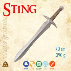 Sting - Žihadlo meč Bilbo and Frodo larp sword