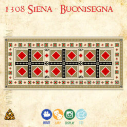 1308 buonisegna replica of carpet