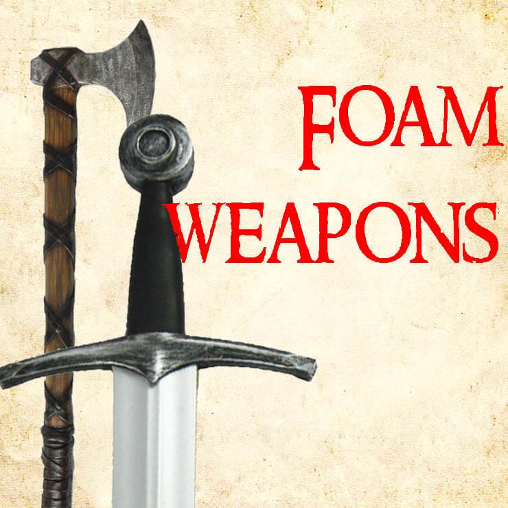 larp foam weapons