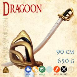 Dragoun - měkčená šavle pro larp a bitvy